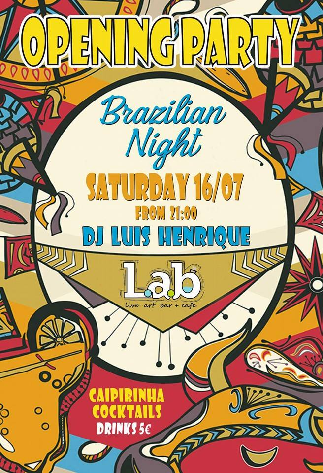 Brazilian Opening Party @ Lab