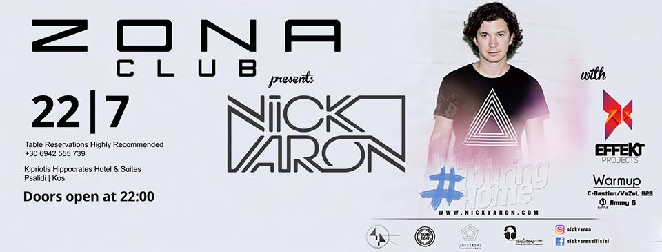 EFFEKT projects presents Nick Varon