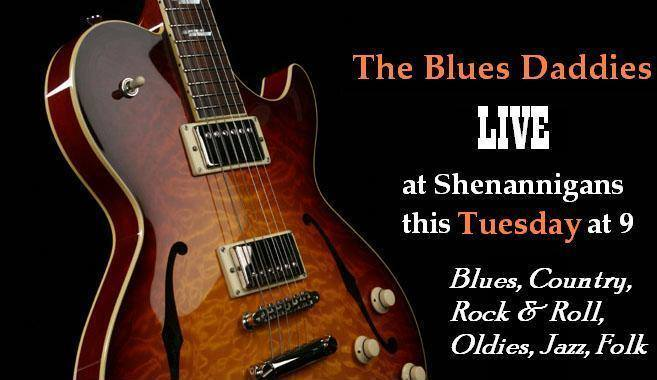 The Blues Daddies live Shenannigans Irish Pub